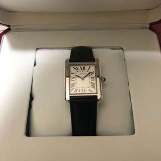 Cartier Tank Solo small leather