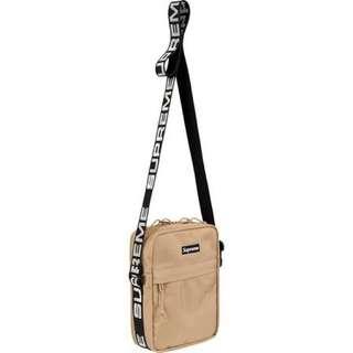 Supreme 44th 卡其 小包 側背Shoulder Bag