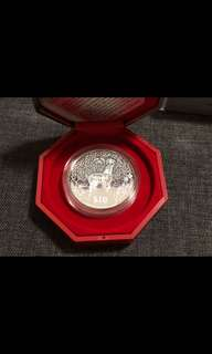 2003 Goat $10 Silver Proof Coin 2oz