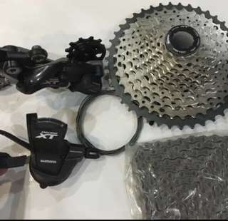 Shimano Deore XT M8000 1 x 11 Speed Set Up
