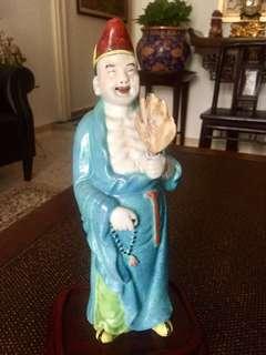 Qing Dynasty Porcelain Ji Gong