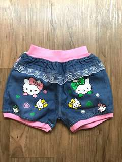 Hello Kitty Denim Shorts