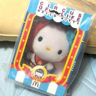 🚚 未拆封🙌🏻麥當勞 限定hello kitty 馬戲團系列 超人