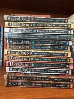 Used Everworld Book Collection (FREE)