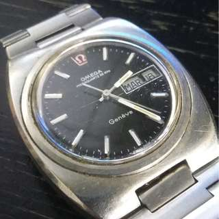 1970 omega 32khz watch