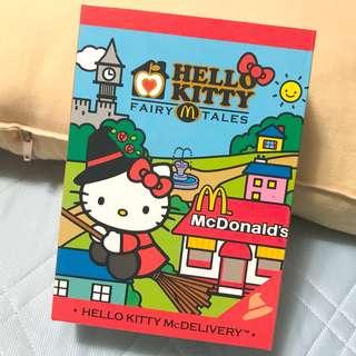 🚚 已拆封🙌🏻麥當勞 限定hello kitty 童話系列 女巫
