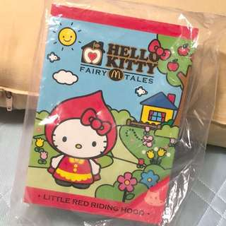 🚚 未拆封🙌🏻麥當勞 限定hello kitty 童話系列 小紅帽