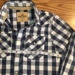 🔥💯👔auth hollister button front