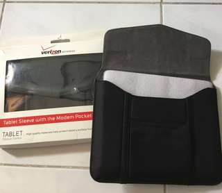 Verizon Tablet Sleeves with Pocket