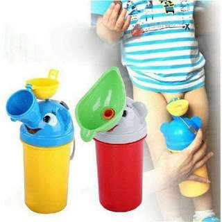 Portable baby child potty urinal