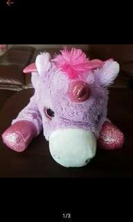 (Free normal mail) 38cm Wings Unicorn Plush Little Pony