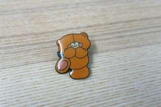 90年代forever friends徽章pin