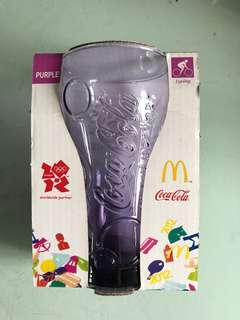 2012 年倫敦奧運麥當勞可口可樂紀念版珍藏玻璃杯
