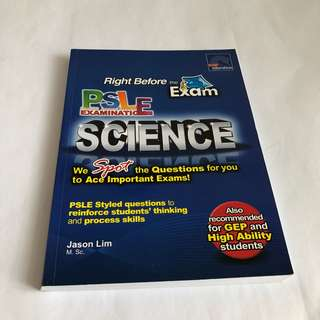 {NEW} PSLE Science workbook, SAP education