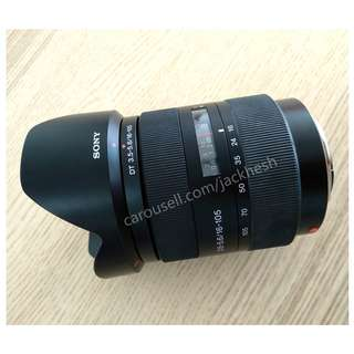 Sony 16-105mm f/3.5-5.6 DT Zoom Lens and UV
