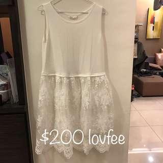 🚚 Lofee 蕾絲洋裝