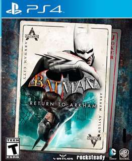 PS4 Batman Return to Arkham (兩隻GAME)
