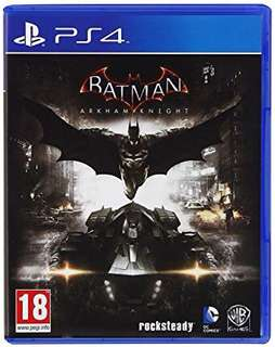 PS4 Batman Arkham Knight UK ver