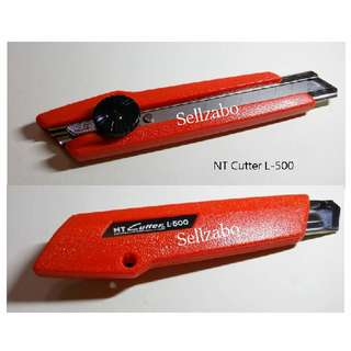 Heavy Duty Cutters Sellzabo NT L-500 Stationery Red
