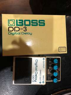 Boss DD-3 Digital Delay w/ Box