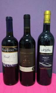 12 botol Wine koleksi