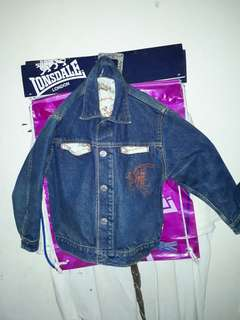 Denim Jacket mickey cowboy