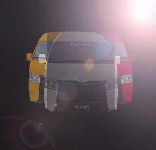 airport taxi / airport van / van rantal / taxi / klia taxi