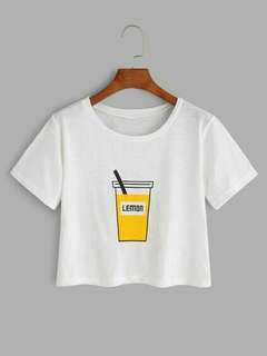 Pakaian Wanita Kaos Print