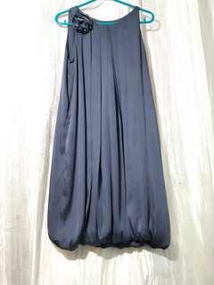 Silky Blue Dress
