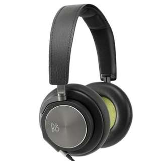 B&O BeoPlay H6 Earphones, Black Leather With 2 Years Warranty