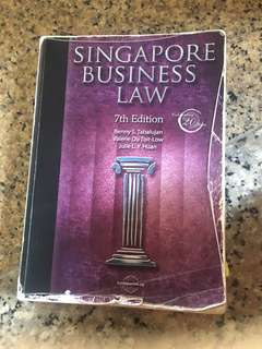 Sigapore business law 7th edition