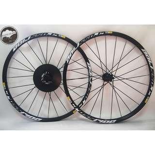 Mavic Crossride 26 27.5 wheelset