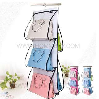 Bag Organizer Bag Organisers Storage Clear Plastic Transparent Clothes Jewellery Shoes