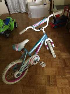 Kids girl bicycle