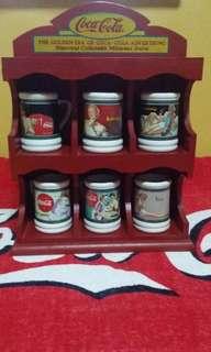 Coca Cola miniature mugs