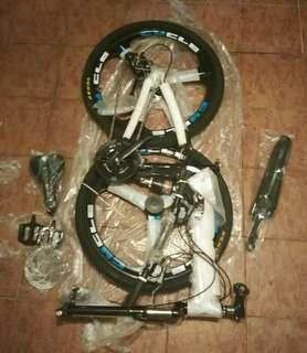 Foldable mountain bike - x6 (27 gear)