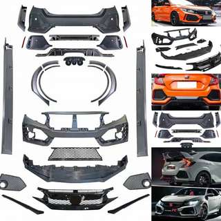 HONDA CIVIC FC 2016-2018 FULLSET TYPE-R BODYKIT
