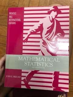 Statistics Texbook