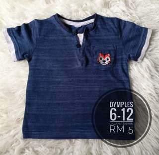 Baby shirts 6-12m