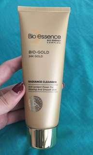 Bio essence bio-gold 24k gold radiance cleanser
