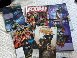 Marvel Comics etc.