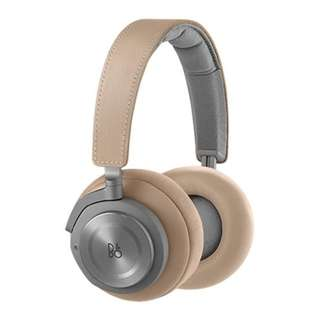 B&O BeoPlay H9 Wireless Over-Ear Headphones, Arcilla Brown/Grey With 2 Years Warranty