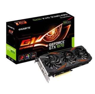 Gigabyte GTX 1070 G1 Gaming OC 8GB