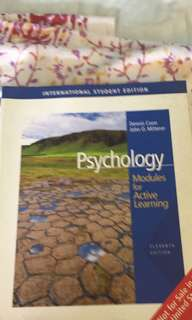 Psychology - Modules for active learning