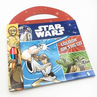 Star Wars Children Colouring Book On the Go
