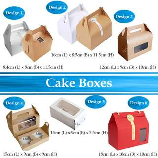 SALE! 80 Cent Cake Boxes