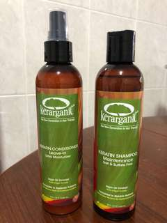 Kerarganic Shampoo & Conditioner