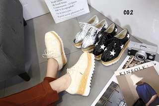 Elsye Star Platform Shoes C02