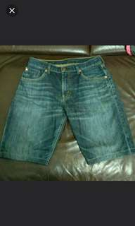 Levis牛仔短褲