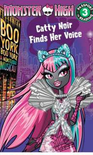 monster high story book